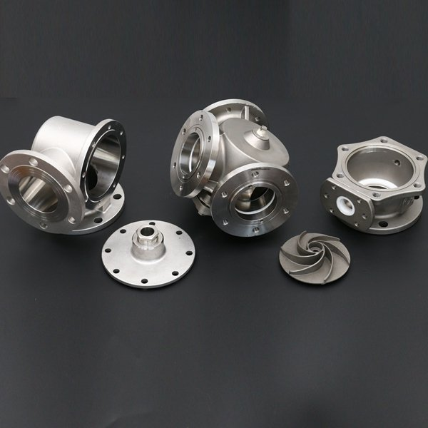 Machining and Casting Pump parts export to japan