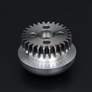 Electrode head on high voltage switch