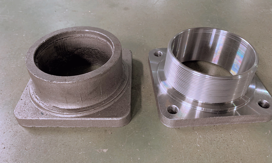 fored flange