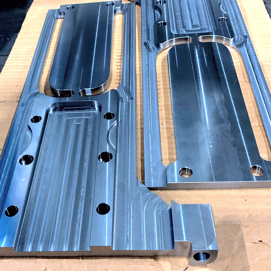 stainless steel milled parts