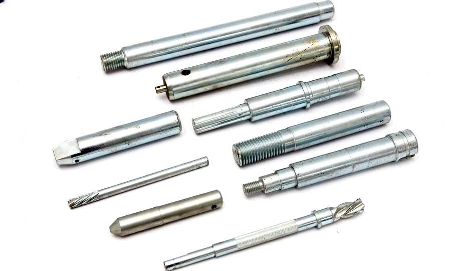 carbon steel machined shaft