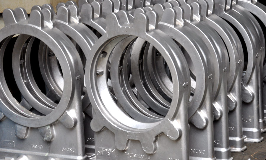 stainless steel gate valve in casting foundry