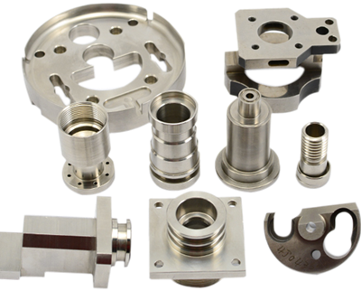 stainless steel machined part